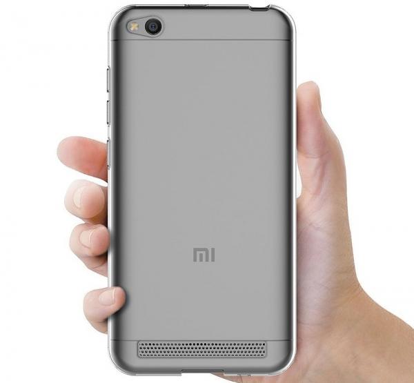 Husa TPU Slim Xiaomi Redmi 5A, Transparent 3