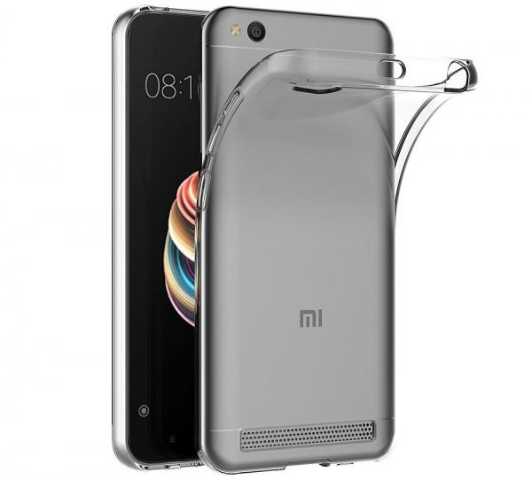 Husa TPU Slim Xiaomi Redmi 5A, Transparent 0
