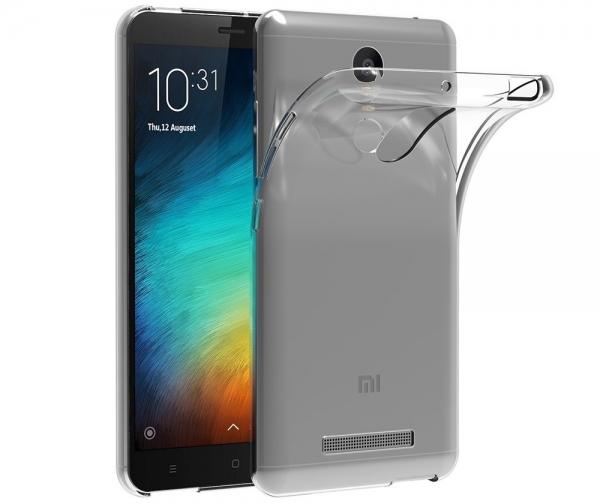 Husa TPU Slim Xiaomi Redmi Note 3, Transparent 0