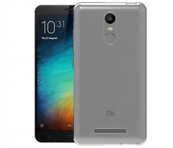 Husa TPU Slim Xiaomi Redmi Note 3, Transparent 1