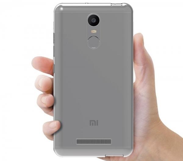 Husa TPU Slim Xiaomi Redmi Note 3, Transparent 2