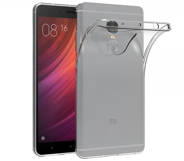Husa TPU Slim Xiaomi Redmi Note 4, Transparent 0