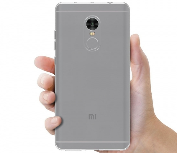 Husa TPU Slim Xiaomi Redmi Note 4, Transparent 2