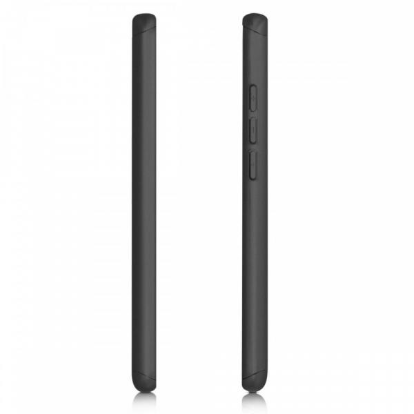 Husa Xiaomi Mi 9T Full Cover 360 + folie sticla, Negru 2