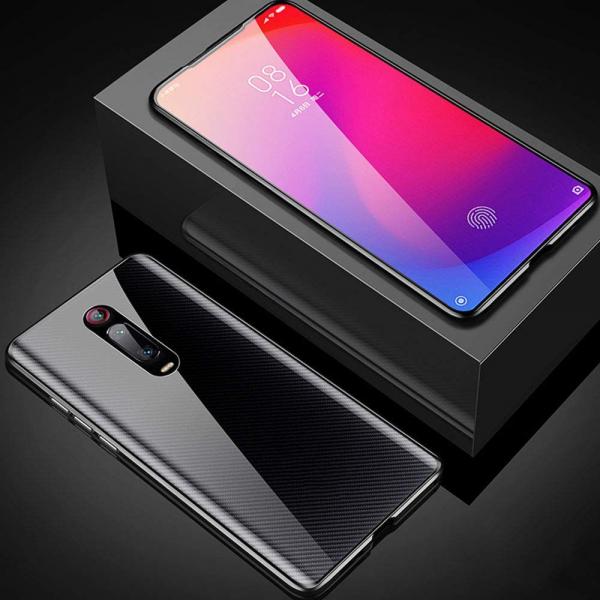 Husa Xiaomi Mi 9T Magnetic Glass 360 (sticla fata + spate), Negru 3