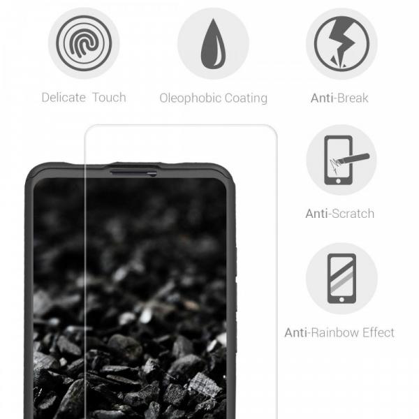 Husa Xiaomi Mi 9T Full Cover 360 + folie sticla, Negru 3