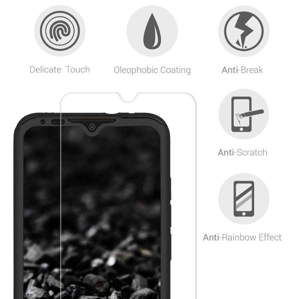 Husa Xiaomi Mi A3 Full Cover 360 + folie sticla, Negru 3