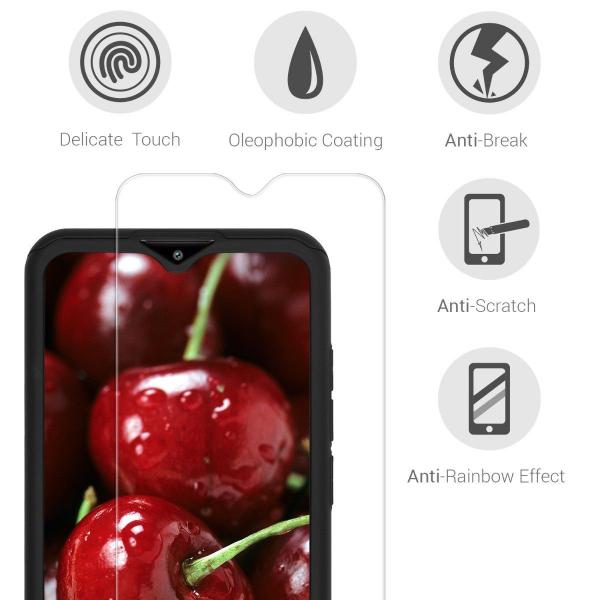 Husa Xiaomi Redmi 8 Full Cover 360 + folie sticla, Negru 3