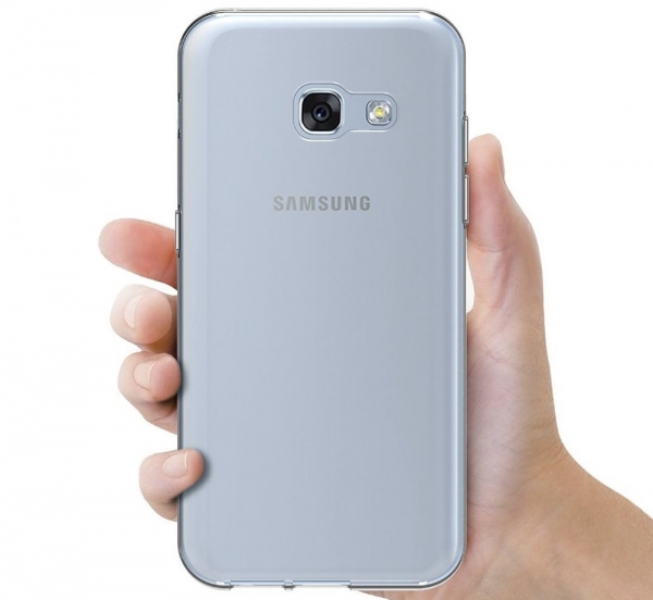Husa Samsung Galaxy A7 (2017) TPU Slim, Transparent 2