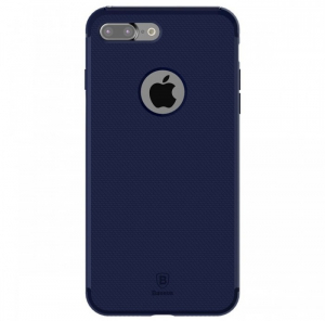 Capac de protectie Baseus Hidden Bracket pentru iPhone 7, Albastru [0]