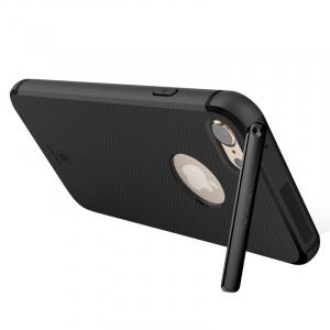 Capac de protectie Baseus Hidden Bracket pentru iPhone 7, Negru1