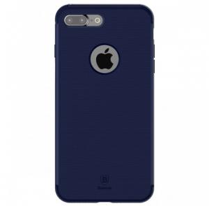 Capac de protectie Baseus Hidden Bracket pentru iPhone 8, Albastru0