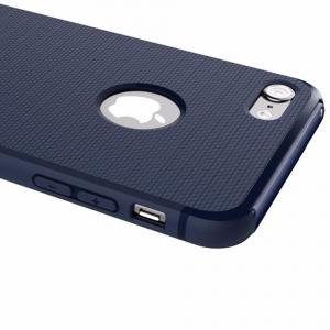 Capac de protectie Baseus Hidden Bracket pentru iPhone 8, Albastru4
