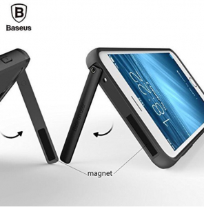 Capac de protectie Baseus Hidden Bracket pentru iPhone 8, Negru2