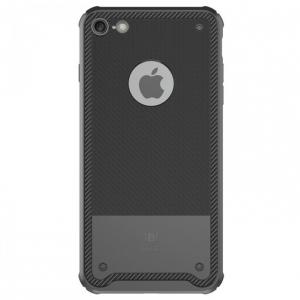 Capac de protectie Baseus Shield Case pentru iPhone 7, Negru [0]