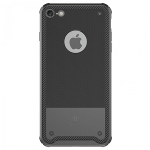 Capac de protectie Baseus Shield Case pentru iPhone 8, Negru [0]