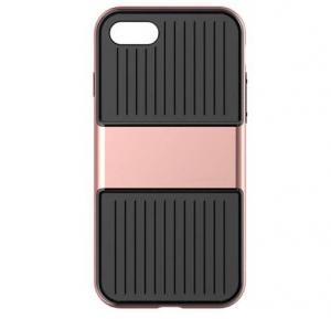Capac de protectie Baseus Travel Case pentru iPhone 7, Rose Gold0
