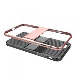 Capac de protectie Baseus Travel Case pentru iPhone 7, Rose Gold2