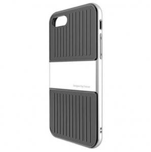 Capac de protectie Baseus Travel Case pentru iPhone 8, Argintiu1