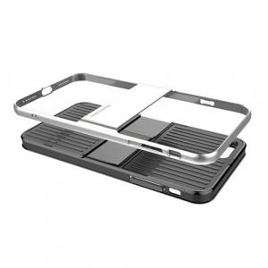 Capac de protectie Baseus Travel Case pentru iPhone 8, Argintiu2