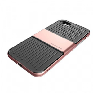 Capac de protectie Baseus Travel Case pentru iPhone 8, Rose Gold3