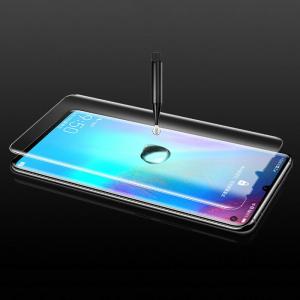 Folie sticla curbata UV Full Glue pentru Huawei P30 Pro, Transparenta4