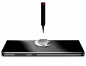 Folie sticla curbata UV Full Glue pentru Samsung Galaxy S10+, Transparenta2