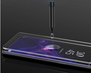 Folie sticla curbata UV Full Glue pentru Samsung Galaxy S10, Transparenta1