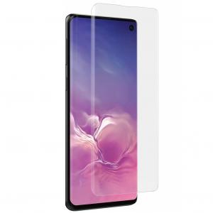 Folie sticla curbata UV Full Glue pentru Samsung Galaxy S10, Transparenta0