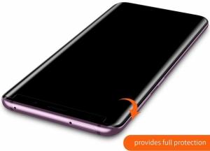 Folie sticla curbata UV Full Glue Samsung Galaxy S9 Plus2