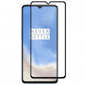 Folie sticla OnePlus 7T Full Cover Full Glue, Negru [0]