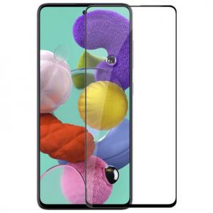 Folie sticla Samsung Galaxy A51 Full Cover Full Glue, Negru0