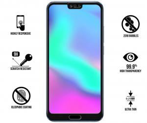 Folie sticla securizata 5D Full Glue Huawei Honor 10, Negru1