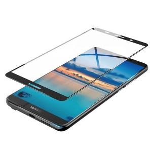Folie sticla securizata 5D Full Glue Huawei Mate 10 Pro, Negru