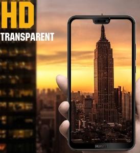 Folie sticla securizata 5D Full Glue Huawei P20 Lite, Negru [2]