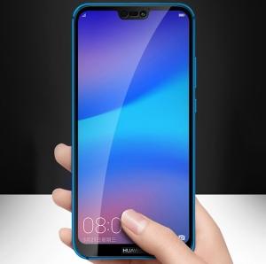 Folie sticla securizata 5D Full Glue Huawei P20 Lite, Negru [1]