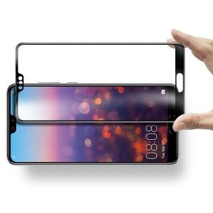 Folie sticla securizata 5D Full Glue Huawei P20 Pro, Negru [1]