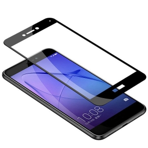 Folie sticla securizata 5D Full Glue Huawei P9 Lite 2017, Negru1