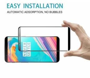Folie sticla securizata 5D Full Glue OnePlus 5T, Negru3