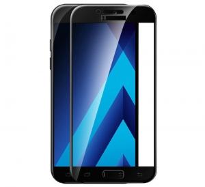 Folie sticla securizata 5D Full Glue Samsung Galaxy A3 (2017), Negru [1]