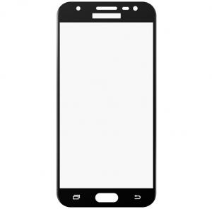 Folie sticla securizata 5D Full Glue Samsung Galaxy J3 (2017), Negru [1]