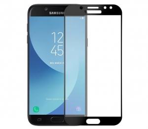 Folie sticla securizata 5D Full Glue Samsung Galaxy J7 (2017), Negru0