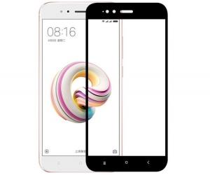 Folie sticla securizata 5D Full Glue Xiaomi Mi A1, Negru1