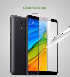 Folie sticla securizata 5D Full Glue Xiaomi Redmi 5 Plus, Negru [2]