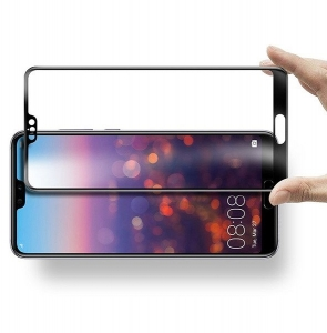 Folie sticla securizata Full Glue Huawei P20, Black1