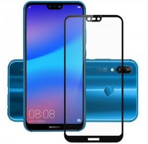 Folie sticla securizata Full Glue Huawei P20 Lite, Black