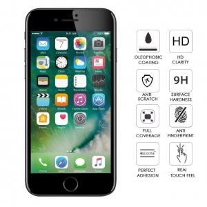 Folie sticla securizata Full Glue iPhone 7 Plus, Black1