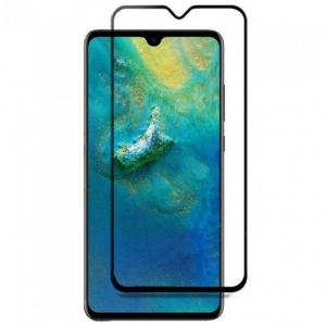 Folie sticla securizata Full Glue pentru Huawei Mate 20, Negru0