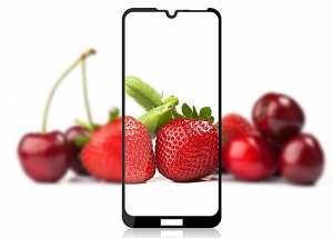 Folie sticla securizata Full Glue pentru Huawei Y6 2019, Negru1