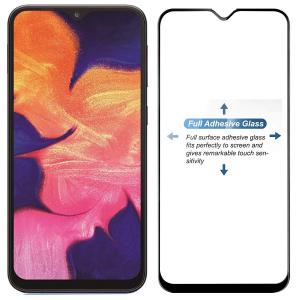 Folie sticla securizata Full Glue pentru Samsung Galaxy A10, Negru1